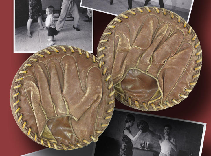Bruce Lee's Focus Mitts