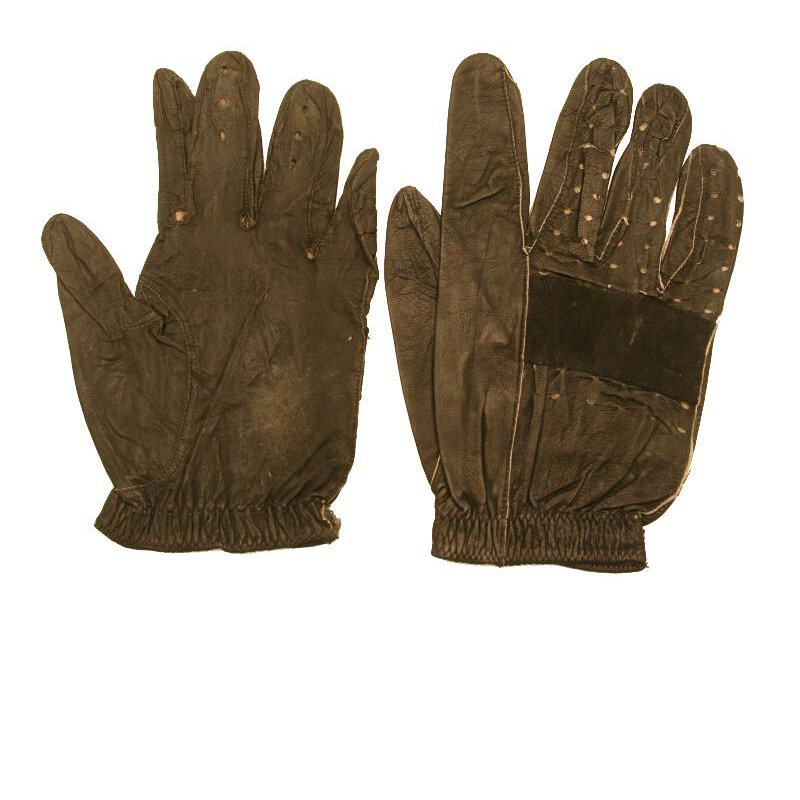 Jim Clark Worn Racing Gloves