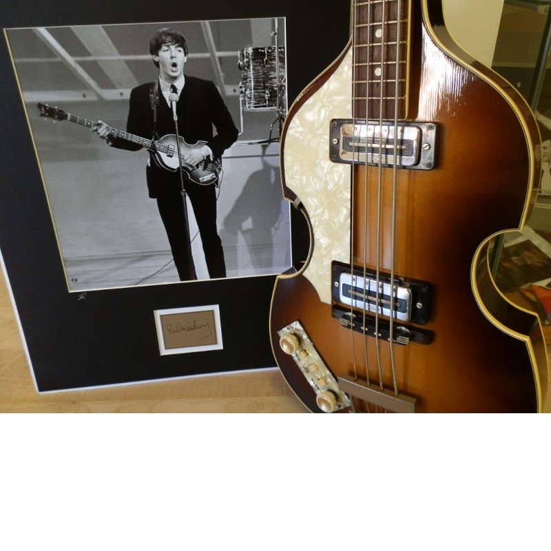Paul McCartney Used Bass Guitar