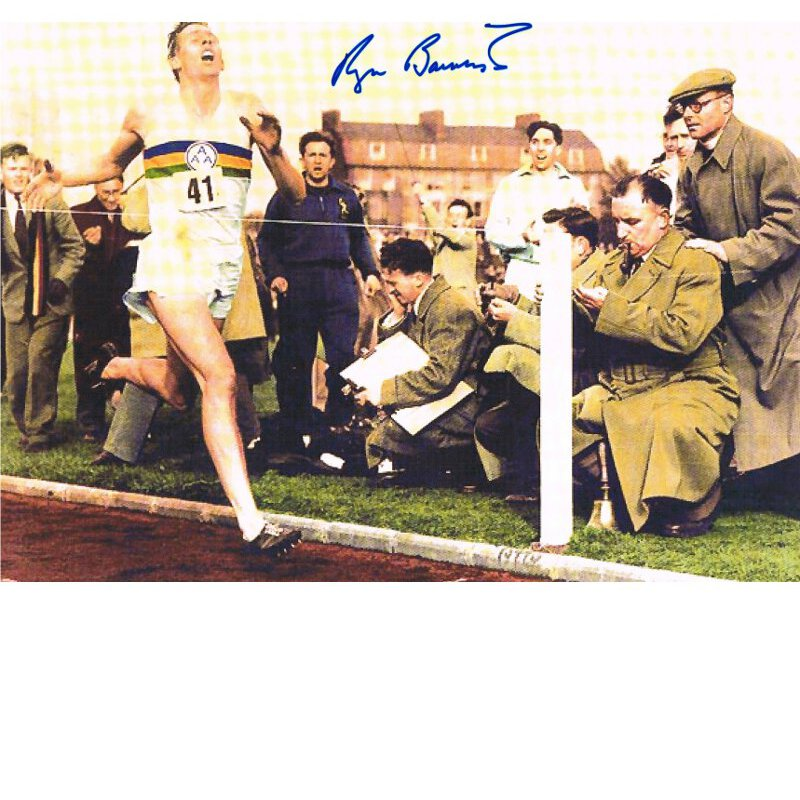 Roger Bannister Signed Photograph