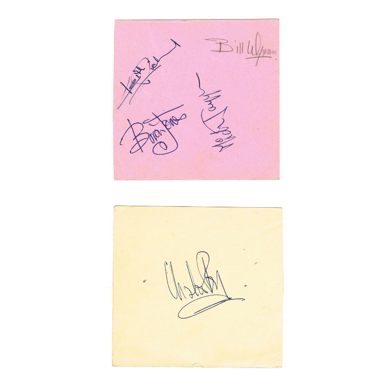 Rolling Stones Signatures