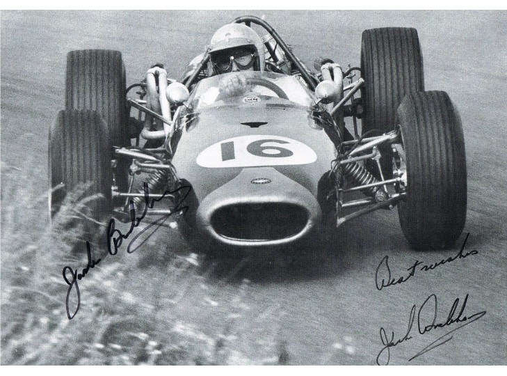 Jack Brabham Signed Photograph