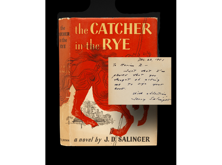 Comment on the use of Salinger's symbolism in The Catcher in the Rye.