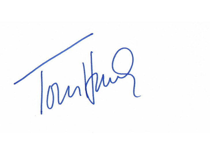 Tom Hanks Autograph