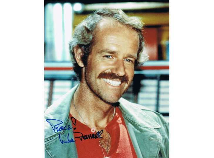 Mike Farrell Signed Photograph