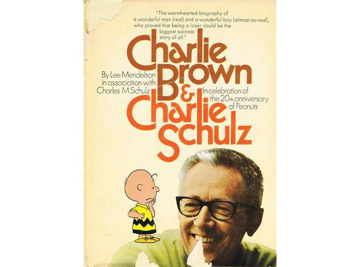 Charles Schulz Signed Copy of Charlie Brown & Charlie Schulz